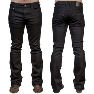 kalhoty pánské (jeans) WORNSTAR - Hellraiser - Black - WSP-02-HRK