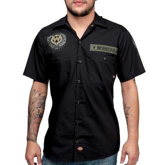 košile pánská WORNSTAR - SGT - Black, WORNSTAR