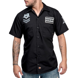 košile pánská WORNSTAR - Cross - Black - WSS-CROS