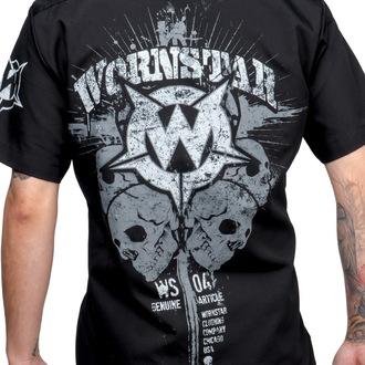 košile pánská WORNSTAR - Cross - Black