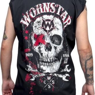 košile pánská bez rukávů WORNSTAR - Death Mechanic - Black