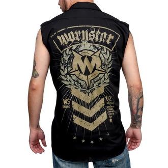 košile pánská bez rukávů WORNSTAR - SGT - Black, WORNSTAR