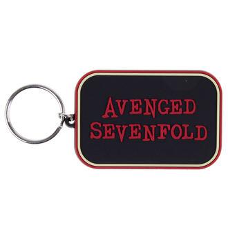 klíčenka (přívěšek) Avenged Sevenfold - Logo - BRAVADO, BRAVADO, Avenged Sevenfold