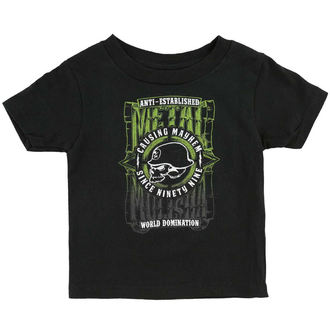 tričko dětské METAL MULISHA - WEST - BLK_SP6M18000.01