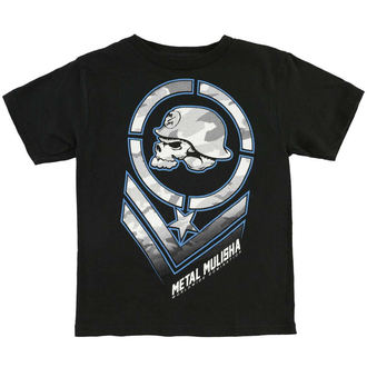 tričko dětské METAL MULISHA - MISSION - BLK_SP6M18003.01