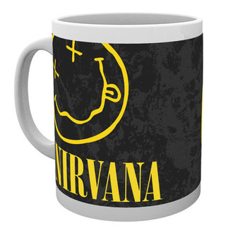 hrnek Nirvana - Smiley - GB posters, GB posters, Nirvana