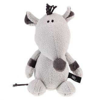 plyšová hračka ROCK STAR BABY - Rat - Grey - 31322