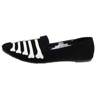 boty dámské (baleriny) IRON FIST - Wishbone Loafer Flat - Black
