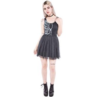 šaty dámské IRON FIST - Wishbone - Black, IRON FIST