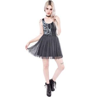 šaty dámské IRON FIST - Wishbone - Black - IFW004289