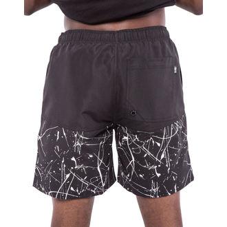 plavky pánské (kraťasy) IRON FIST - Extracurricular - Black/White, IRON FIST