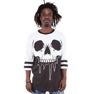 tričko pánské s 3/4 rukávem IRON FIST - Face Melter - Graphic - Black/White - IFM003998