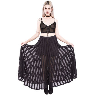 sukně dámská IRON FIST - Lydia Maxi - Black - LIC004041