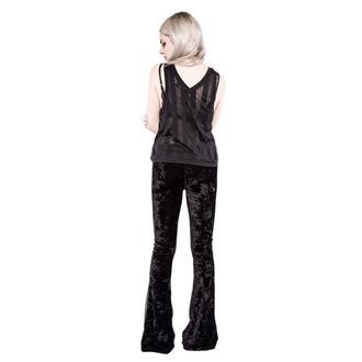 tílko dámské IRON FIST - Patti V Neck Slouchy Vest - Black