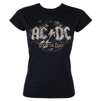 tričko dámské AC/DC - Rock Or Bust - LOW FREQUENCY - ACGS05003