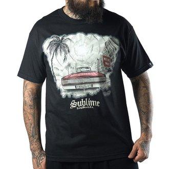tričko pánské SULLEN - Wrong Way - Black, SULLEN