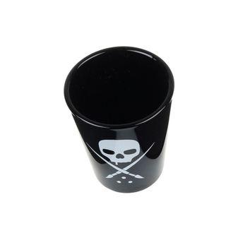 panáky SULLEN (set) - Black - Skull - SCA0101_BK