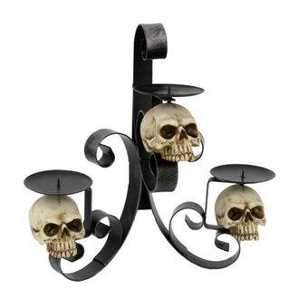 svícen Skull - 766-6969