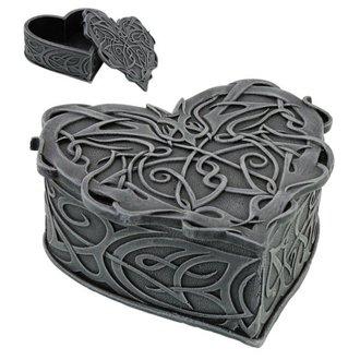 dekorace (krabička) Celtic Heart - 766-9031