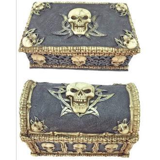 dekorace (set krabiček) Skull - 816-2034