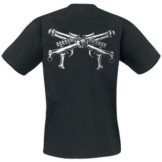 tričko pánské HEARTLESS - Skull Trooper - Black - POI085