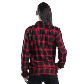 košile pánská VIXXSIN - Corner Shirt - Red, VIXXSIN