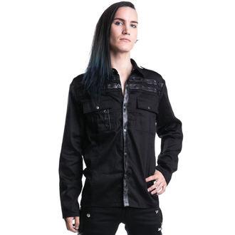 košile pánská VIXXSIN - Draw - Black - POI088