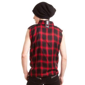 košile pánská bez rukávů VIXXSIN - Diablo - Red, VIXXSIN