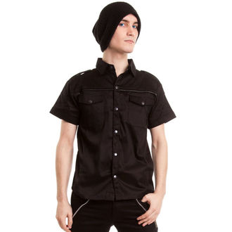 košile pánská VIXXSIN - Poison - Black, VIXXSIN