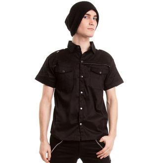 košile pánská VIXXSIN - Poison - Black - POI027