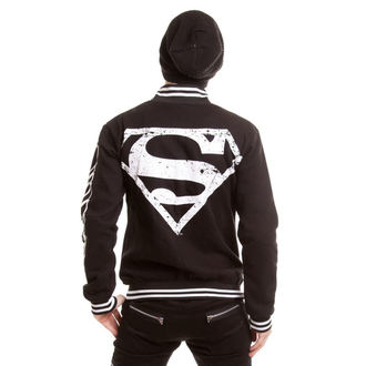 bunda pánská SUPERMAN - Superteam - Black, POIZEN INDUSTRIES
