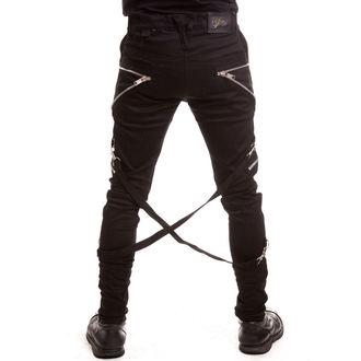 kalhoty pánské VIXXSIN - Folter - Black, VIXXSIN