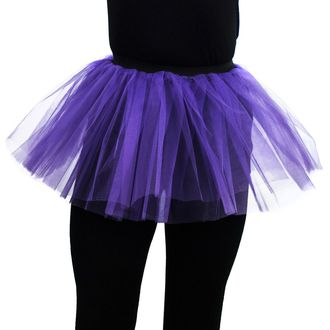 sukně dámská POIZEN INDUSTRIES - Cor Tutu - Dark Purple, POIZEN INDUSTRIES