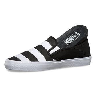 boty pánské VANS - Slip-On (Stripes) - Black
