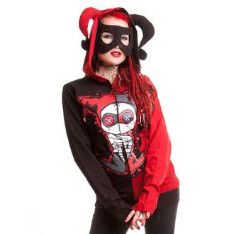 mikina dámská CUPCAKE CULT - Jester - Black/Red, CUPCAKE CULT