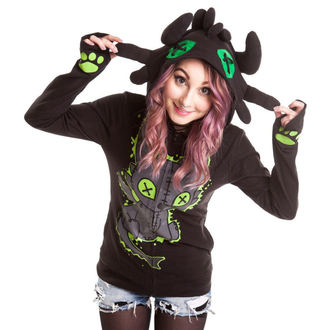 mikina dámská CUPCAKE CULT - Voodoo Dragon - Black - POI037