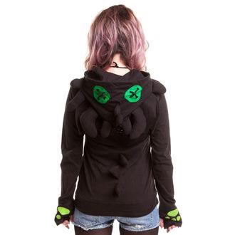 mikina dámská CUPCAKE CULT - Voodoo Dragon - Black, CUPCAKE CULT