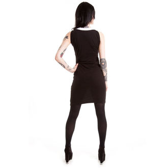 šaty dámské HEARTLESS - Wednesday - Black - POI052
