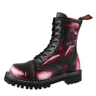 boty KMM 8 dírkové - Vampire Red, KMM