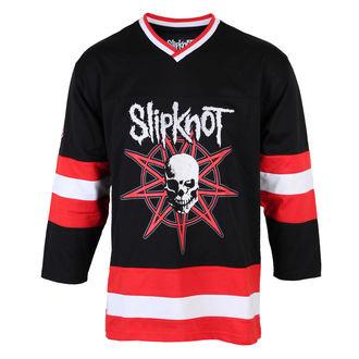 tričko pánské (dres) s 3/4 rukávem Slipknot - Skull Hockey - BRAVADO, BRAVADO, Slipknot