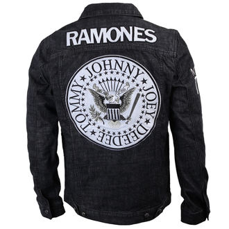 bunda pánská Ramones - Seal - Denim - BRAVADO - 95222041