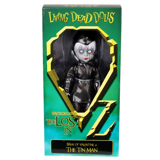 panenka LIVING DEAD DOLLS - Bride Of Valentine As The Tin Man, LIVING DEAD DOLLS