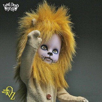 panenka LIVING DEAD DOLLS - Teddy as The Lion, LIVING DEAD DOLLS