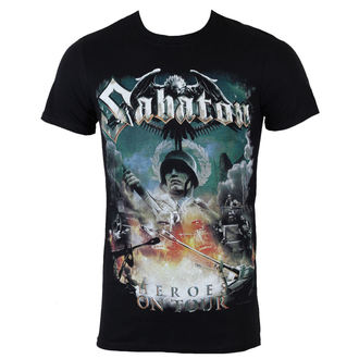 tričko pánské Sabaton - Heroes on tour - NUCLEAR BLAST, NUCLEAR BLAST, Sabaton