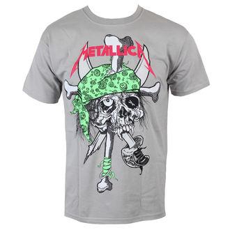 tričko pánské Metallica - Metal Pirate - Grey - MTLTSZPIRP