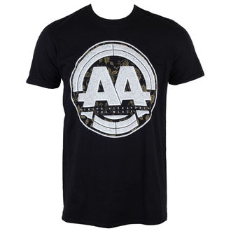 tričko pánské Asking Alexandria - Album Stamp - Black - LIVE NATION, LIVE NATION, Asking Alexandria