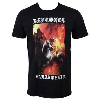 tričko pánské Deftones - California - Black - LIVE NATION, LIVE NATION, Deftones