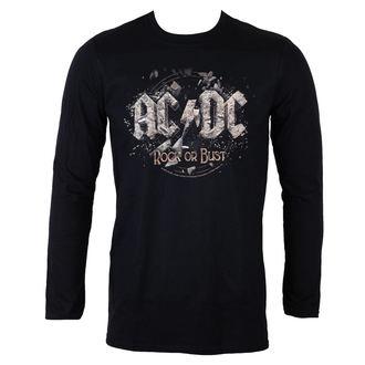 tričko pánské s dlouhým rukávem AC/DC - Rock Or Bust - LOW FREQUENCY, LOW FREQUENCY, AC-DC