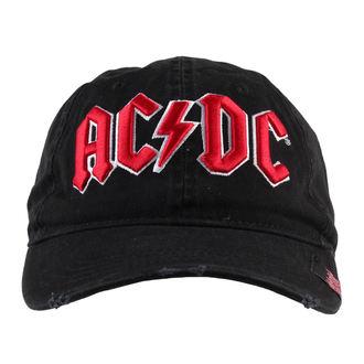 kšiltovka AC/DC - Black - F.B.I., F.B.I., AC-DC
