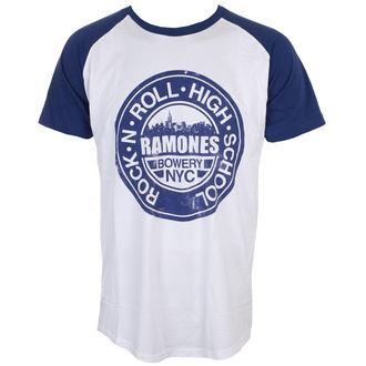 tričko pánské Ramones - Bowery Nyc - ROCK OFF, ROCK OFF, Ramones